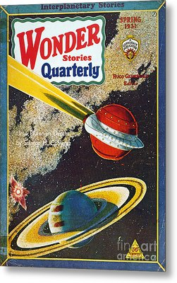 Science Fiction Cover, 1931 Metal Print by Granger