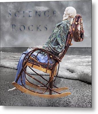 Science Rocks Metal Print