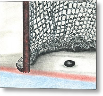 Score Metal Print by Troy Levesque