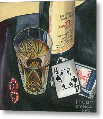 Scotch And Cigars 2 Metal Print