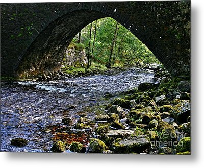 Scotland Bridge Metal Print