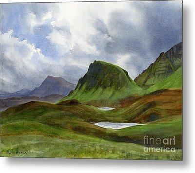 Scotland Highlands Landscape Metal Print