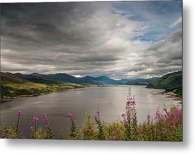 Scotland's Landscape Metal Print