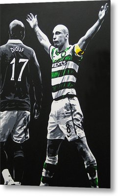 Scott Brown - Celtic Fc Metal Print