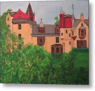 Scottish Castle Metal Print