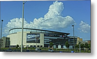 Scottrade Center Home Of The St Louis Blues Metal Print