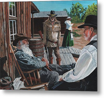 Scouts Report Metal Print by Timithy L Gordon