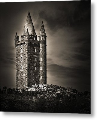 Metal Print featuring the photograph Scrabo Tower Newtownards County Down by Jane McIlroy