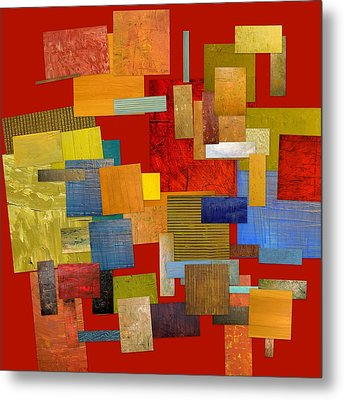 Scrambled Eggs L Metal Print