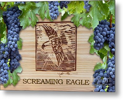 Screaming Eagle Metal Print by Jon Neidert