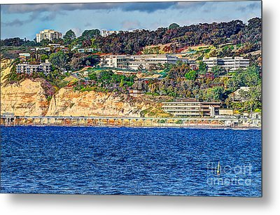 Scripps Institute Of Oceanography Metal Print