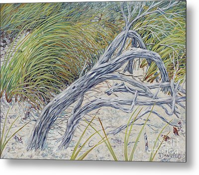 Sculpted By The Wind Metal Print by Danielle  Perry