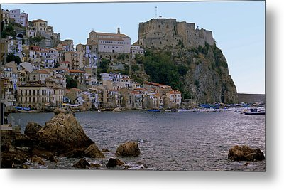 Scylla And The Shore Metal Print