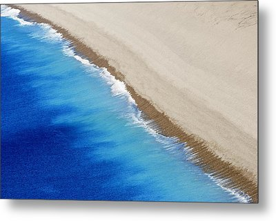 Metal Print featuring the photograph Sea And Sand by Wendy Wilton