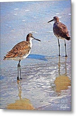 Sea Birds No.4 Metal Print