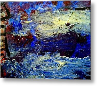 Sea Desaster Metal Print by Mirko Gallery