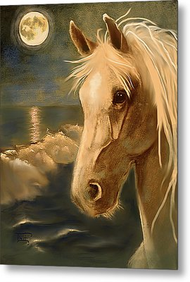 Metal Print featuring the painting Sea Dream by Terry Webb Harshman