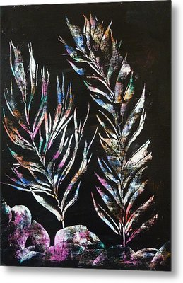 Sea Ferns Metal Print