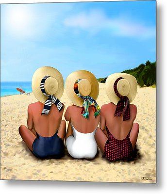 Sea Gazing 3 Metal Print