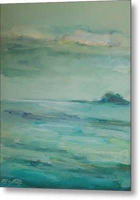 Sea Glass Metal Print by Mary Wolf