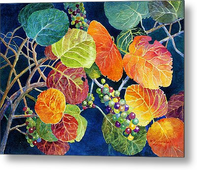 Sea Grapes II Metal Print