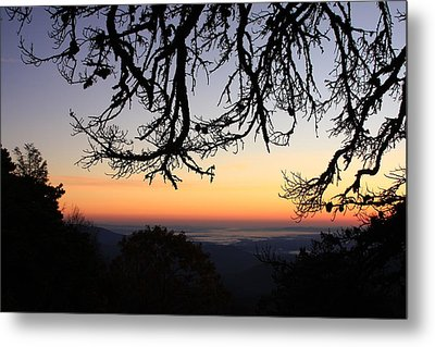 Sea Of Clouds On The Blue Ridge Metal Print by Mountains to the Sea Photo