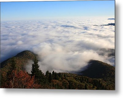Sea Of Clouds On The Blue Ridge Parkway Metal Print by Mountains to the Sea Photo