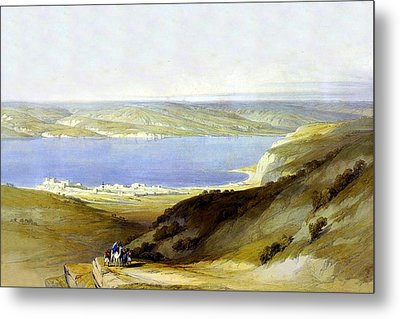 Sea Of Galilee Metal Print by Munir Alawi