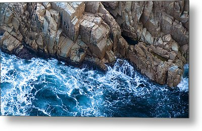 Sea Rocks Metal Print by Frank Tschakert