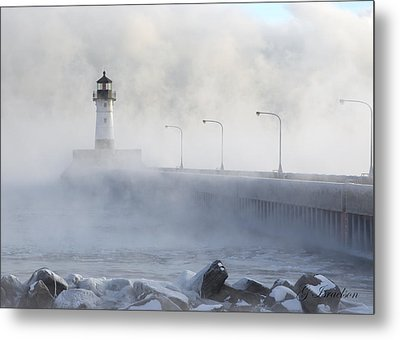 Metal Print featuring the photograph Sea Smoke by Gregory Israelson