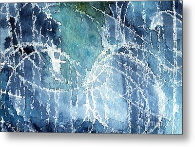 Sea Spray Metal Print by Linda Woods
