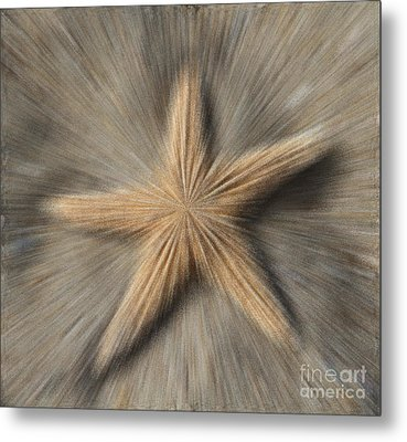 Sea Star Explosion Metal Print