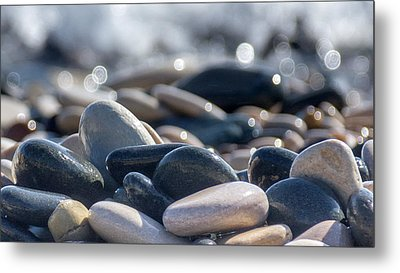 Sea Stones  Metal Print by Stelios Kleanthous