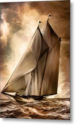 Sea Stories. Metal Print