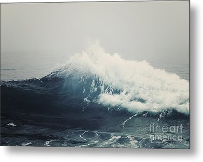 Sea Storm  Metal Print by Bree Madden