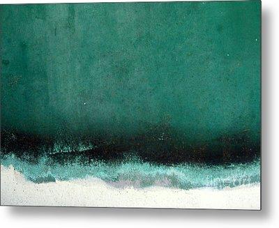Sea Storm Metal Print by Robert Riordan