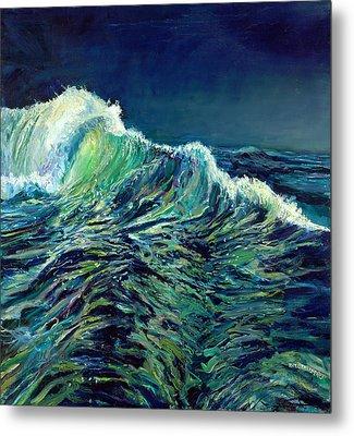 Sea Swells Metal Print