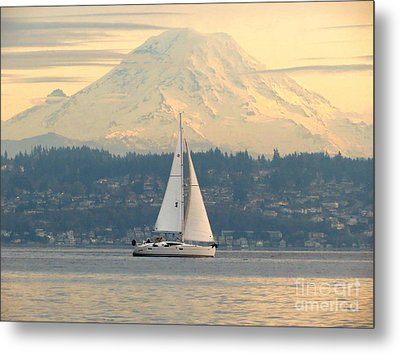 Sea To Sky Metal Print by Gayle Swigart