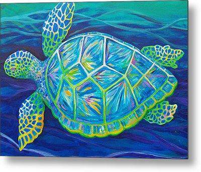 Sea Turtle I Metal Print