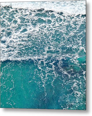 Sea View Metal Print by Liz  Alderdice
