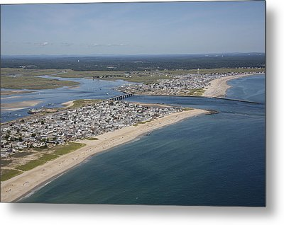Seabrook Beach, New Hampshire Nh Metal Print by Dave Cleaveland