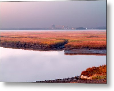 Seabrook Glows Metal Print by Shell Ette