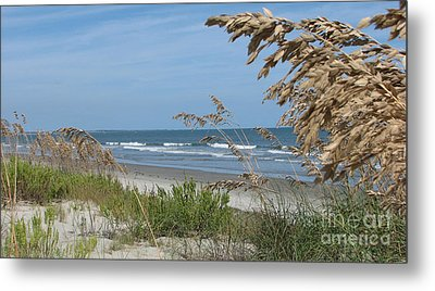 Seabrook Sc Beach Metal Print