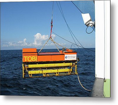 Seafloor Mapping Instrument Metal Print by B. Murton/southampton Oceanography Centre