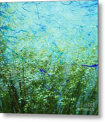 Seagrass Metal Print by Darla Wood