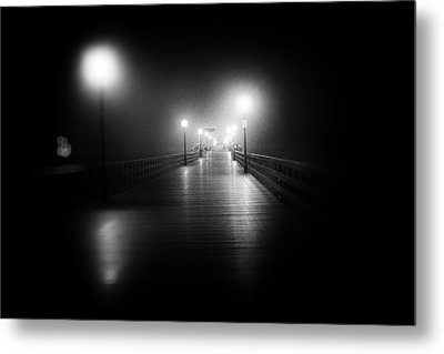 Seal Beach Pier - 2014 Metal Print