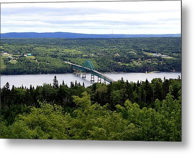 Seal Island Bridge Metal Print