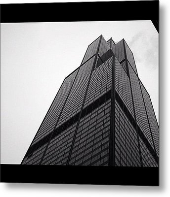 Sears Tower Metal Print by Mike Maher
