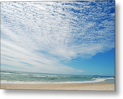 Metal Print featuring the photograph Seascape 2 by Ankya Klay