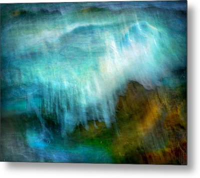 Metal Print featuring the photograph Seascape #20 - Touching Your Hand by Alfredo Gonzalez